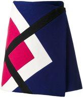 MSGM envelope straight skirt