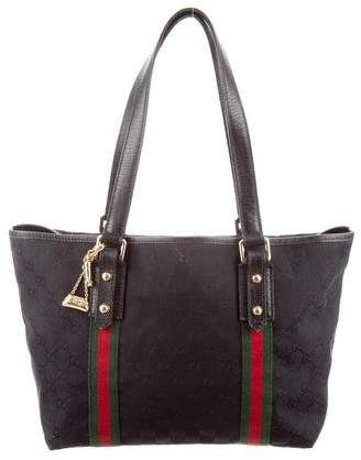 c65e6be9114b Gucci Canvas Tote Bags - ShopStyle