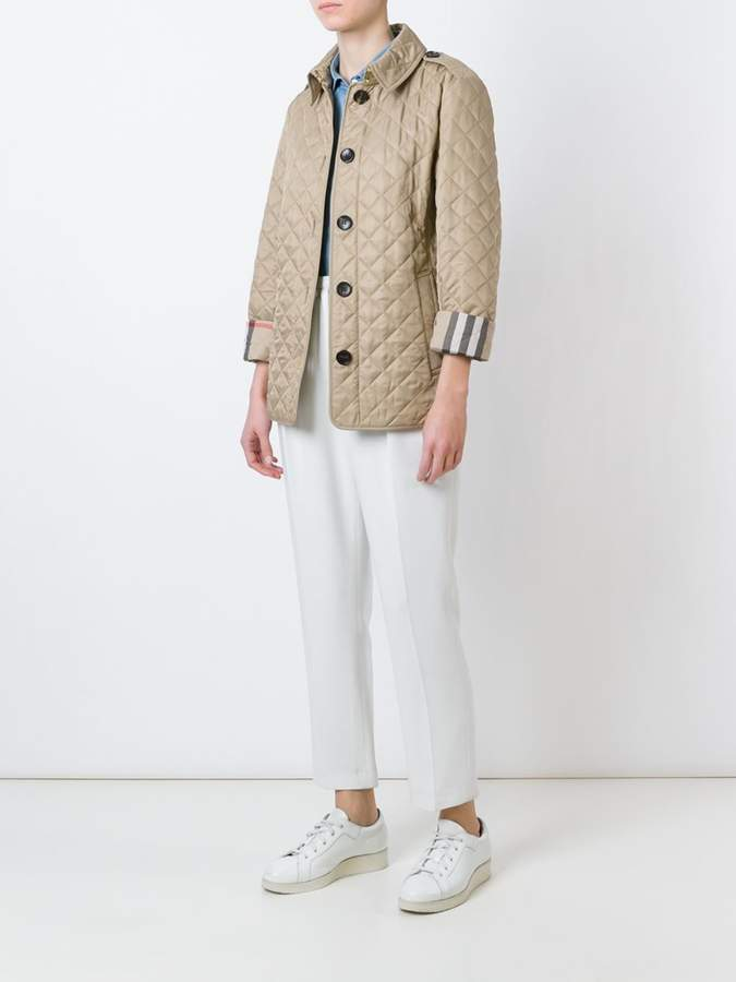 Burberry classic quilted jacket