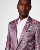 Ted Baker Slim fit jacquard blazer