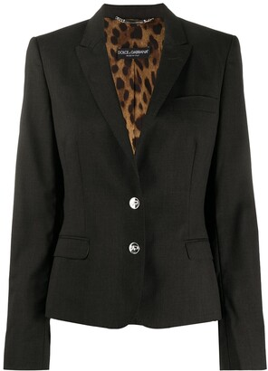 Dolce & Gabbana Pre-Owned 1990s Single-Breasted Blazer