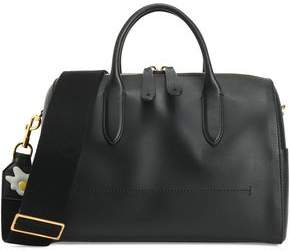 Anya Hindmarch Vere Barrel Appliquéd Leather Shoulder Bag