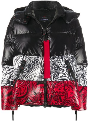 Peuterey Panelled Padded Jacket