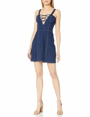 Somedays Lovin Women's Lakeside Blues Strappy Dress