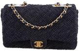 Chanel Woven Raffia Flap Bag