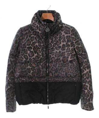 Moncler Brown Wool Jackets