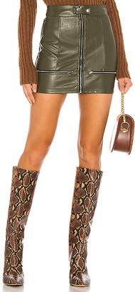 superdown Janice Moto Mini Skirt