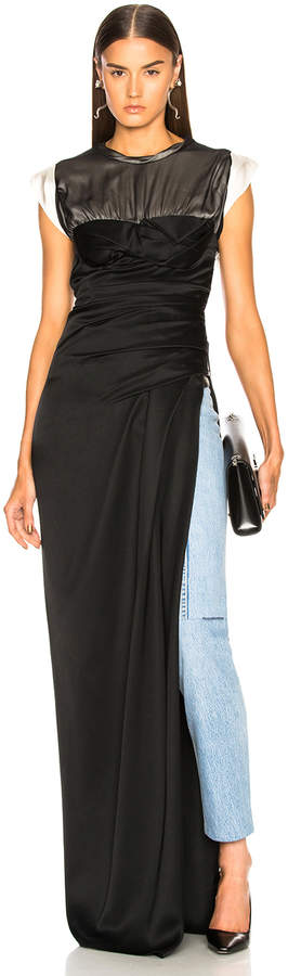 Alexander Wang Twisted Cup Evening Dress