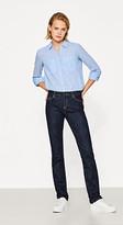 Esprit Extremely stretchy dark denim jeans