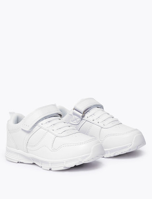 Marks and Spencer Kids Riptape Trainers (5 Small - 12 Small)