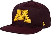 Zephyr Minnesota Golden Gophers Gridiron Snapback Cap
