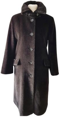 Lana Black Fur Coat for Women