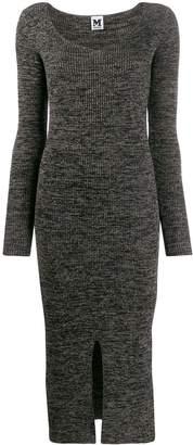 M Missoni ribbed knit long dress
