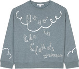 Burberry Head in the clouds print cotton jumper 4-14 years