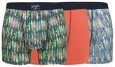 Mantaray Pack Of Three Assorted Surfboard Print Hipster Trunks