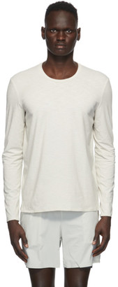 JACQUES Off-White L-Sleeve T-Shirt