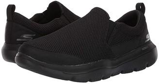 Skechers Performance Go Walk Evolution Ultra - Impeccable (Black) Men's Slip on Shoes