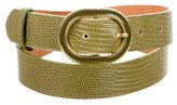 Dolce & Gabbana Embossed Buckle Belt