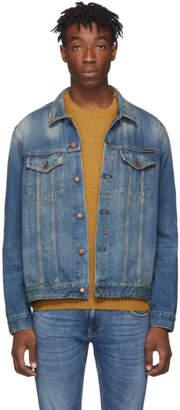 Nudie Jeans Blue Denim Jerry Dark Worn Jacket