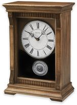 Bulova Warrick III Chime Mantel Clock in Oak
