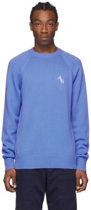 Aimé Leon Dore Blue Classic Raglan Sweater