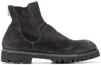 Officine Creative Distressed Ankle Boots