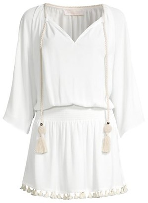 Ramy Brook Katana Blouson Tunic Dress