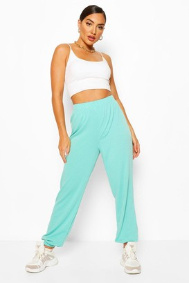 boohoo Elasticated Waist Relaxed Loopback Joggers