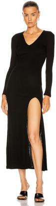 IRO Issue Dress in Black | FWRD
