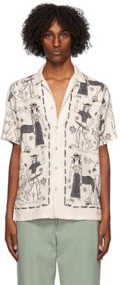 Endless Joy Off-White Gorgon Short Sleeve Shirt