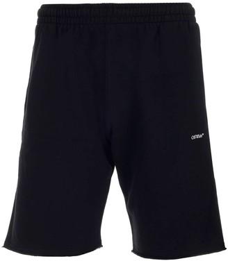 Off-White Stencil Sweat Shorts