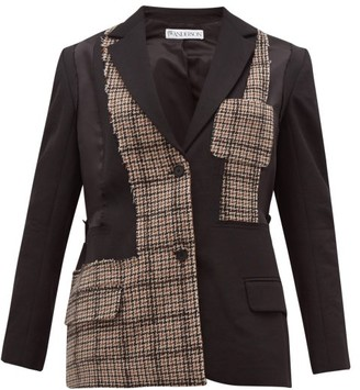 J.W.Anderson Patchwork Tailored Jacket - Black Multi