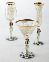 Mackenzie Childs MacKenzie-Childs Blooming Wine Glass