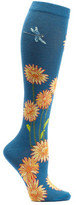 Ozone Women's Dragonflies And Daisies Knee High Socks
