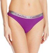 Calvin Klein Women's Radiant Cotton Thong Panty