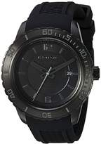 Wenger Men's 'Roadster Night' Swiss Quartz Stainless Steel and Silicone Casual Watch, Color:Black (Model: 01.0851.126)