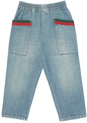 Gucci Kids Cotton jeans