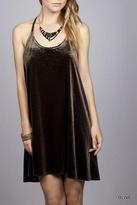 Umgee USA Velvet Mini Dress