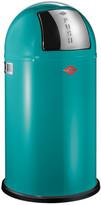 Wesco Pushboy Bin - 50L - Turquoise