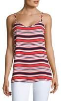 Kensie Striped Regular-Fit Tank Top