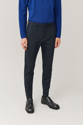Cos Cropped Zip-Cuff Trousers