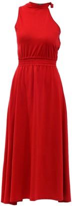 Z.G.Est Cotton Casual Dress Madlenne Red