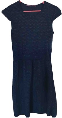 Comptoir des Cotonniers Navy Wool Dress for Women