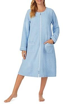 Eileen West Quilted Zipper Robe