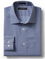 Banana Republic Grant-fit Non-iron Hash Dot Print Shirt