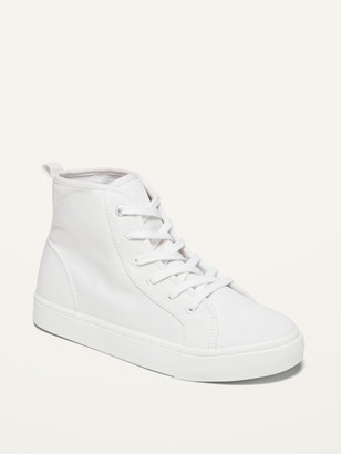 Old Navy Canvas High-Top Sneakers for Girls