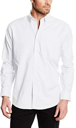 Fruit of the Loom Men's Oxford Long Sleeve Shirt,(Manufacturer Size:XX-Large)