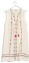 Madewell Women's Willow Embroidered Shift Dress