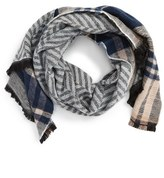 Sole Society Women's Reversible Blanket Scarf