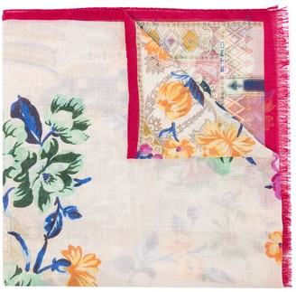 Etro Calcutta floral-print scarf